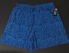 Maggie Sweet Blue Shorts With Black Geometric Pattern Plus Size 3X NWT #MaggieSweet #Shorts #Plus #Bonanza
