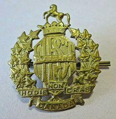 Tin Toys, Vintage Toys, Badge, Vintage Jewelry, Canada, Cap, Baseball Hat, Antique Toys, Badges