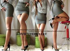 超sexy美タイトBACKスリット美尻美脚OLスーツスカート                   (グレー) 商品詳細 今期新作!とっても大人sexyな美タイト BACKスリット美尻美脚OLスーツスカート★★ 綺麗め美タイトライン+マイクロミニ丈の コラボがsexyフェロモン全開b('ー^*) シンプルデザインだから合わせやすくて、 お出かけや通勤で穿くと、 男のコの視線を釘付け!!(*ゝω・*)☆ 着こなし方はシャツを出してラフに着ても、 シャツをINして綺麗めカッチリ系で 着こなしてもOK(人´...