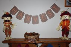 Reversible Harvest to Rejoice Banner by ReyesBoutique on Etsy