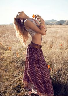 #boho #maxi #skirt