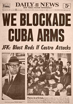 Daily News (EE.UU) - 23 de octubre de 1962. Crisis de los misiles en Cuba. http://www.historiasiglo20.org/GLOS/cuba1962.htm