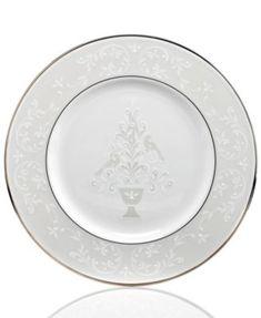 Lenox Opal Innocence Accent Plate | macys.com