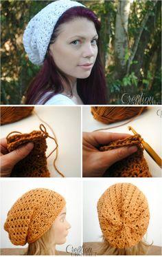 Crochet Trinity Slouch Hat: - 10 Free Crochet Patterns for Slouch Hat | 101 Crochet