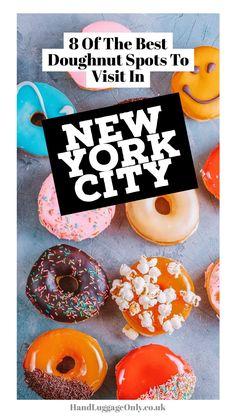 8 der besten Donuts in New York City , New York Pizza, New York Food, New York Vacation, New York City Travel, Best Donuts In Nyc, Donut Places, New York City Attractions, New York Tours, York Restaurants