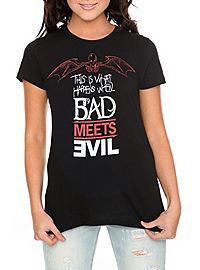 HOTTOPIC.COM - Eminem Bad Meets Evil What Happens Girls T-Shirt