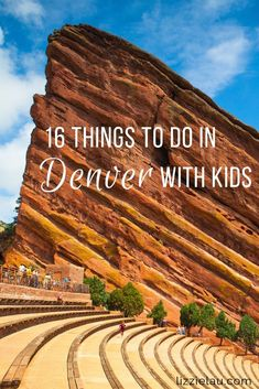 Planning to visit Denver Colorado with kids? You'll find a variety of terrific family attractions and museums to choose from. Boulder Colorado, Colorado Springs, Colorado Usa, Usa Travel Guide, Travel Usa, Travel Tips, Travel Destinations, Travel Ideas, Denver Travel