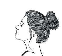So, you've come to the realization that bath bombs are a definite bathroom need? Welcome to the better smelling world of bomb delights. Bath bombs are a d Tumblr Outline, Outline Art, Hair Illustration, Illustration Sketches, Girl Tumbler, Png Tumblr, Overlays Tumblr, Girl Sketch, Black And White Drawing