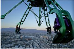 Did You Know ? - Google  -   Insanity  Stratosphere Tower - Las Vegas At at height of…