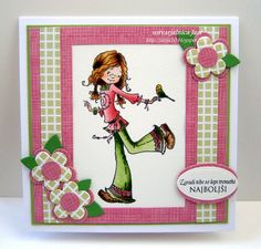 ScrapBerry's stamps - wonderful day