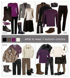Family Photo What to Wear | What to Wear ~ Autumn Colours | Family Photography Sessions