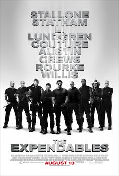 """The Expendables"" (2010) directed by Sylvester Stallone"