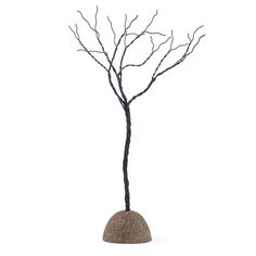 Twisted Wire Metal Tree Sculpture