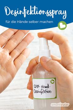 Desinfektionsmittel selber machen - Practical Tips for Cleaning at Home Make Your Own, Make It Yourself, How To Make, Fitness Tips, Fitness Motivation, Disinfectant Spray, Fragrance Parfum, Active Ingredient, Hand Sanitizer