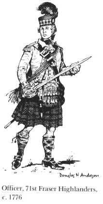 Officer, 84th Royal Highland Emigrants, 1778,