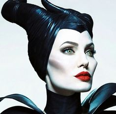 Actress Angelina Jolie takes on the titular role as Maleficent in the upcoming Disney film with the same name. Mert Alas and Marcus Piggott… Maleficent Makeup, Maleficent 2014, Maleficent Costume, Maleficent Tattoo, Maleficent Movie, Maleficent Drawing, Maleficent Horns, Maleficent Quotes, Disney Villains