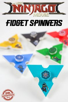 We are celebrating The LEGO NINJAGO Movie hitting theaters this month with fun ninja star fidget spinners, inspired by the movie! Ninjago Party, Lego Ninjago Movie, Fun Arts And Crafts, Crafts For Kids, Fidget Spinner Template, Summer Activities For Kids, Winter Activities, Family Activities, Learning Activities