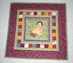 Another little quilt for for much too early born babys!!!