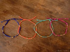 Thanks, I Made It : DIY Crimp Bead Bracelet - super cute layered or worn on its own!