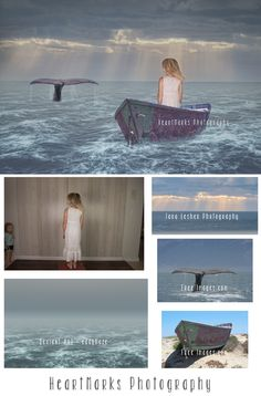 Free Like the Sea by HeartMarks Photography | Tutorial with Tara Lesher Photography #photoshop #composite #imaginewithhmp