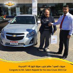 Congrats  #Chevy_New_Car #chevrolet #car #new_car #uae #abudhabi #الامارات #ابوظبي #سيارات #شيفروليه #BinHamoodahAuto