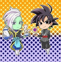 Zamasu & Goku Black