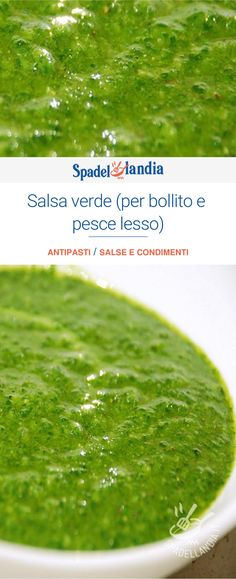 Salsa Verde, Fresh Salad Recipes, Antipasto, Chutney, Pesto, Food And Drink, Cooking Recipes, Ethnic Recipes, Mousse