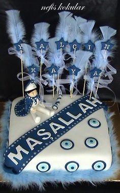 Yalçın Kaya için hazırladığım sünnet pastası.. Sweet Cakes, Cute Cakes, Party Organization, Popular Recipes, Party Themes, Decoration, Wedding Gifts, Treats, Birthday