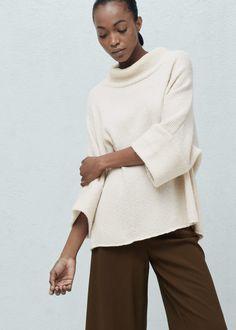Dolman-sleeve sweater   MANGO