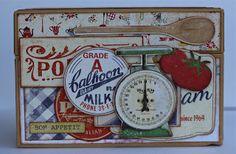 LOVE THIS !!!!!!! Recipe Box from Farmgirl - Mary-Ann Maldonado