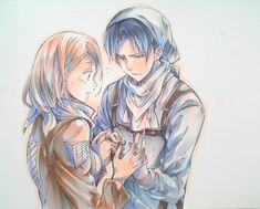 Levi & Petra beautiful drawing and also I ship it