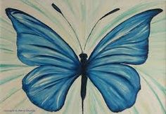 Image result for butterfly painting on canvas
