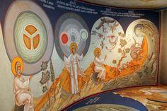 Church Interior, Orthodox Icons, Sacred Art, Fresco, Medieval, Archive, Creations, Princess Zelda, Album