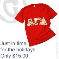 Like & Share this post on facebook to be entered to win 10 of these shirts for free!! #AGD #alphagammadelta #win