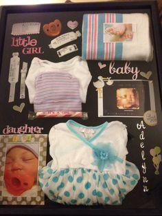 Newborn shadow box