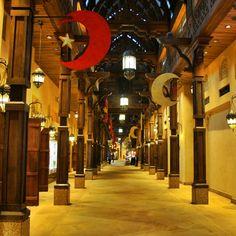 The Madinat Jumeirah decorated for Ramadan #dubai #souq #uae #market #travels #tourism
