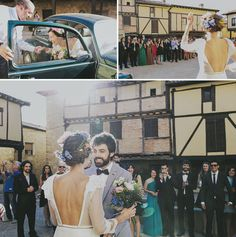 Indie Northern Spain Wedding: Carolina + Alberto