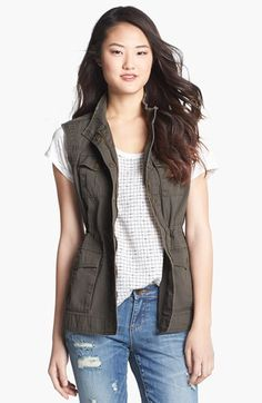 Ambition Military Vest available at #Nordstrom