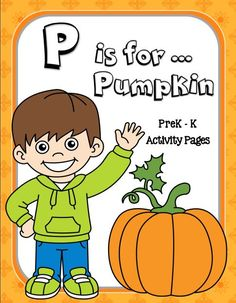 CHSH - Pumpkin Themed Educational Resources:  55 pages of FUN learning: Fine Motor Skills practiced, handwriting, tracing, coloring, drawing, cutting, pasting, counting, sorting and more!