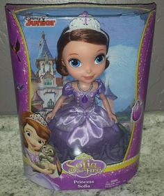 Sofia the First doll Princess Sofia New #Mattel