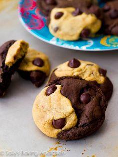 Soft-Baked Peanut Butter Chocolate Swirl Cookies. - Sallys Baking Addiction
