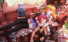 「無自覚両想い♡」/「刃天」のイラスト [pixiv] Anime: Fairy Tail