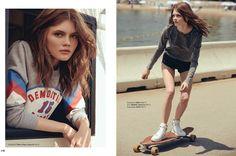 serbest bölge: konstancja skawińska by kerem yılmaz for all magazine august 2015 | visual optimism; fashion editorials, shows, campaigns & more!