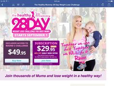 Join the 28 Day Challenge now and get a 40% discount - http://www.losebabyweight.com.au/28-day-signup/