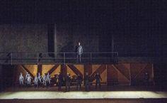 Billy Budd. English National Opera. Scenic design by Paul Steinberg.