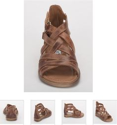 #Children's #Cherie #Sandals - Brown #Leather #Kids Shoes. http://www.rinastore.com/1715-cherei-sandals-brown/dp/2389  #MadeInItaly Available at Rina's #Italian #Shoe #Boutique. On Sale Now!