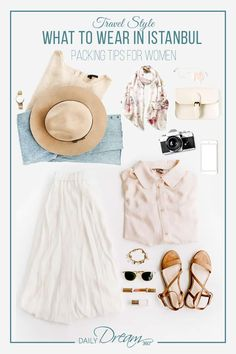 Planning a trip to Istanbul? We have some great Istanbul packing tips including what to wear in Istanbul. Check out our list of fashions perfect for travelling to a conservative country. Packing List For Travel, Packing Tips, Travel Tips, Asia Travel, Travel Destinations, Travel Hacks, Travel Advice, Travel Essentials, Travel Guides