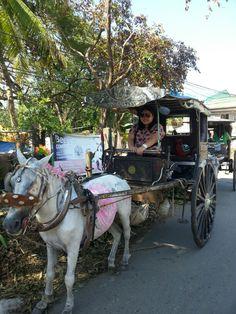 Calesa ride at vigan city