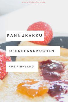 Pannukakku - ein einfaches Rezept für die Familienküche. Eine Leckerei aus Finnland. Pfannkuchen aus dem Ofen. Mein Rezept schnell und einfach und so lecker. Pfannkuchen schmecken jede, Ofenpfannkuchen sind super lecker und variabel und bei Bedarf milchfrei, laktosefrei und familienfreundlich. #feierSun #feierSunFood #Rezept #Ofenpfannkuchen #Pannukakku #finnland #schsnelleKüche #Familienküche Snacks, Diy Food, Doughnut, Cereal, Super, Desserts, Breakfast, Blog, Lifestyle