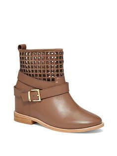 Perforated Wedge Bootie - VS Collection - Victoria's Secret